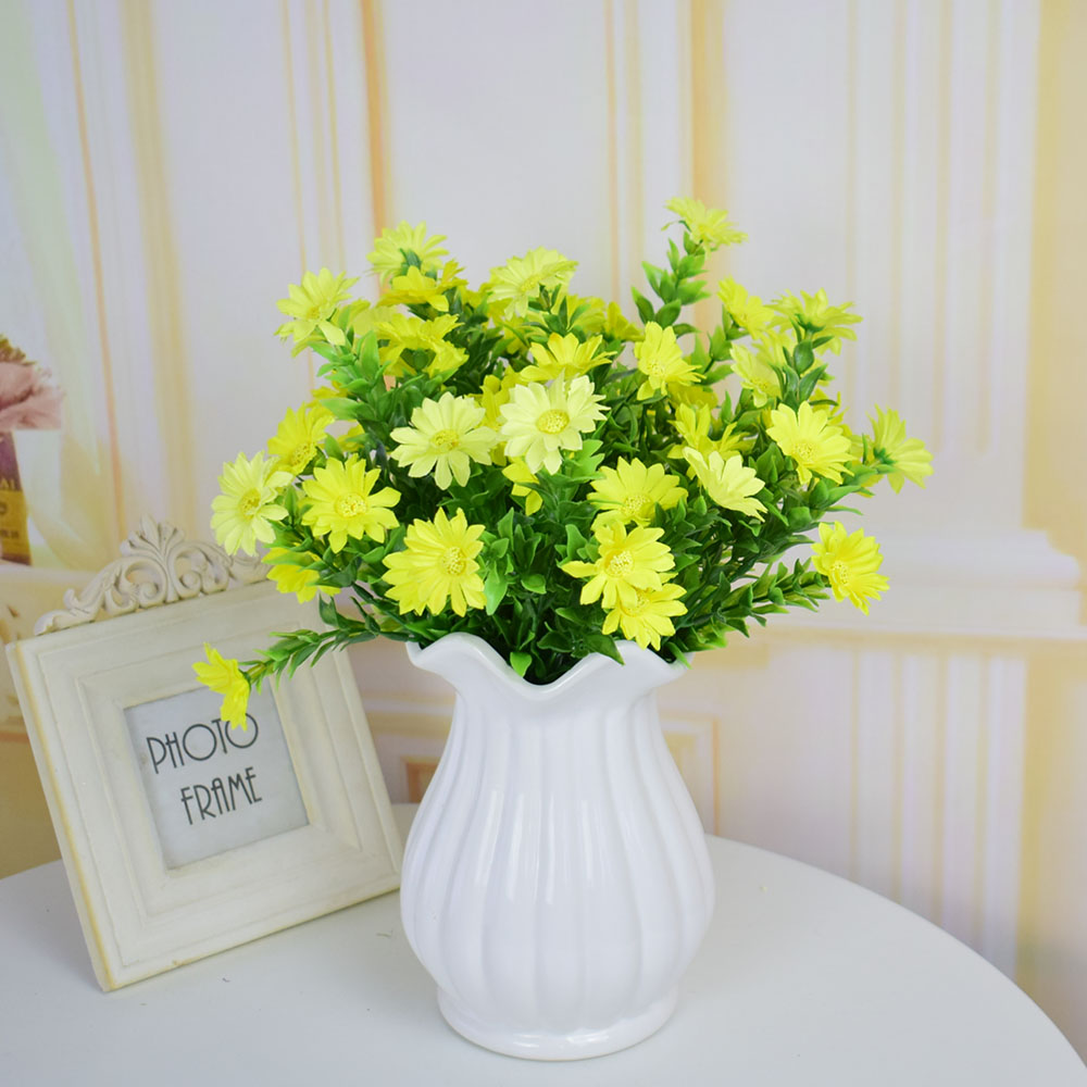 Artificial Flowers Small Daisy For Home Wedding Table Decorations