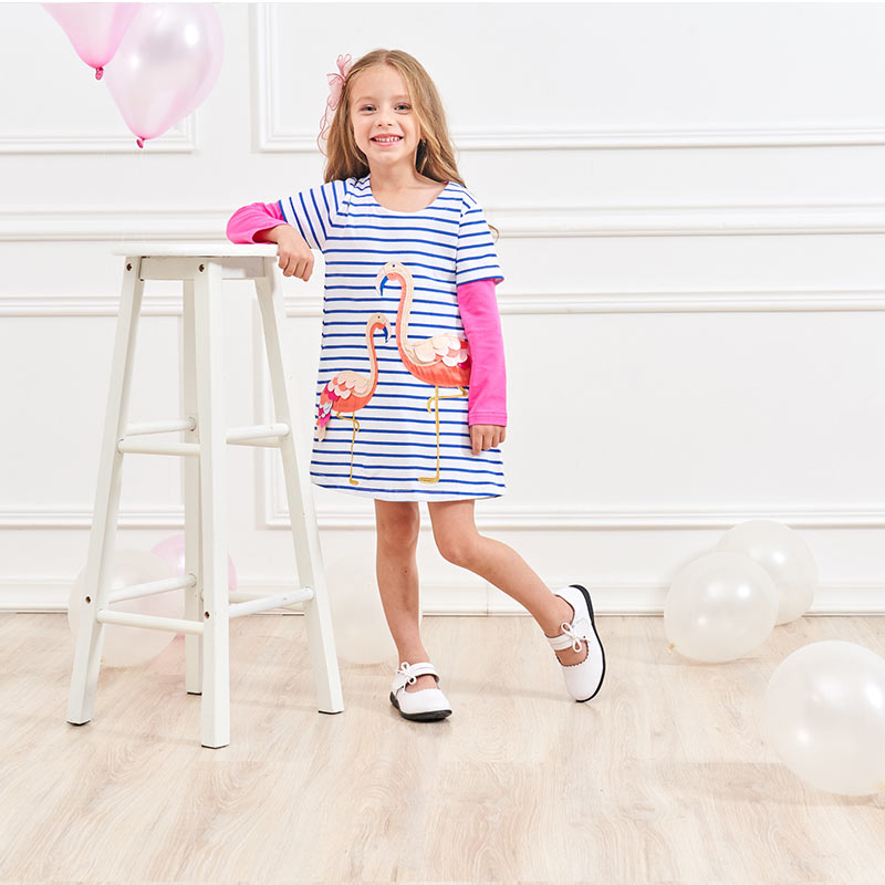 HTB1 PaBQSzqK1RjSZFHq6z3CpXap DXTON 2018 New Girls Dresses Long Sleeve Baby Girls Winter Dresses Kids Cotton Clothing Casual Dresses for 2-8 Years Children