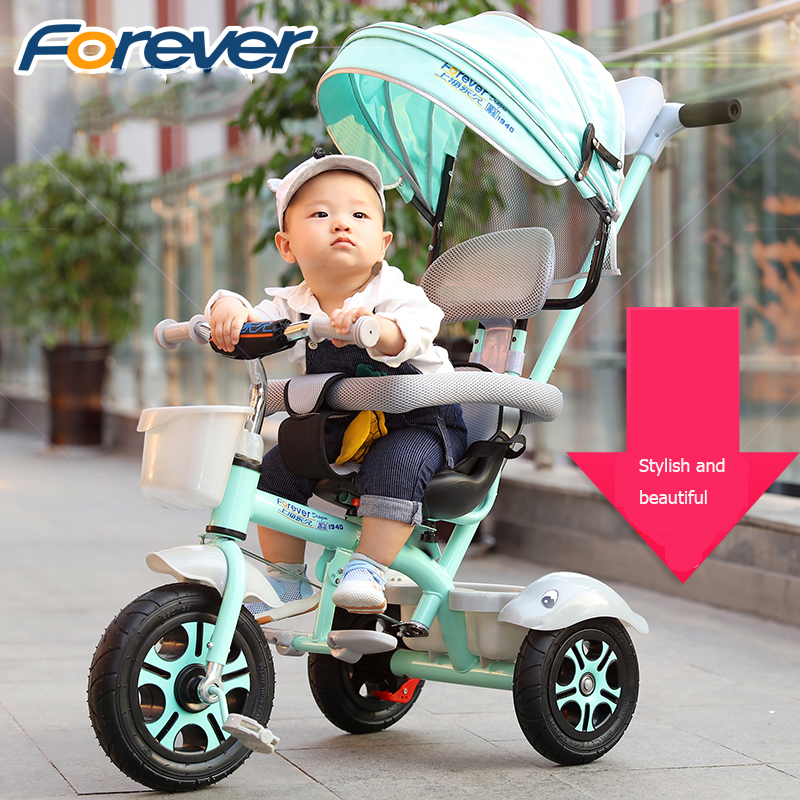 2018 new lightweight children's riding tricycle trolley for 6 months to 6 years old baby strw6053s to 220f 6
