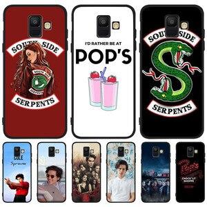 American TV Riverdale For Samsung Galaxy A9 A8 A7 A6 A5 A3 J3 J4 J5 J6 J8 Plus 2017 2018 Southside Serpent Case Cover Coque Etui(China)