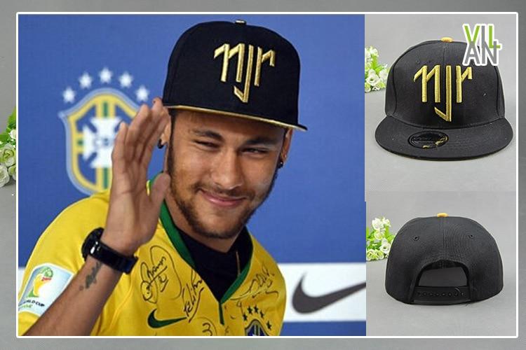 92260d09754 Hot Sale Golden Logo Neymar JR Brazil Baseball Caps Cap hip hop Sport  Snapback Cap Hat Chapeu De Sol Bone Masculino Men-in Baseball Caps from  Apparel ...