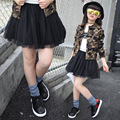 2016 Spring Autumn Teenage Girls Skirt Baby Girls Lace Tutu Skirts Pettiskirt For 5-13 Years Old Children's Skirt Kids Clothes
