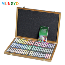 Mungyo Master Soft Pastel 72 Colors Wooden Box Painting Crayons Art Drawing Set Chalk Color Crayon Brush Stationery For Artist цена в Москве и Питере