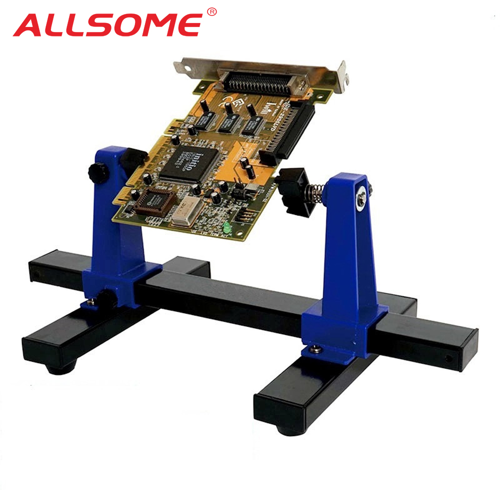 Sn 390 Pcb Holder Printed Circuit Board Jig Fixture Soldering Assembly Consists Of A Adjustable Frame And Stand Clamp Repair