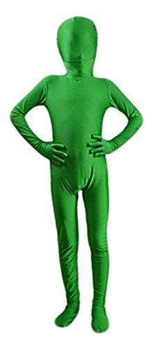 24hours 2017 New Halloween Green Full Body Spandex Zentai - Կարնավալային հագուստները - Լուսանկար 5