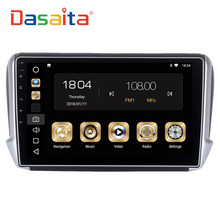 Dasaita 10.2″ Android 8.0 Car GPS Player for Peugeot 208&2008 2012-2016 with Octa Core 4GB Ram Auto Radio Multimedia GPS NAVI 4G