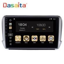 Dasaita 10.2″ Android 8.0 Car GPS Player for Peugeot 208&2008 2012-2016 with Octa Core 4GB Ram Auto Radio Multimedia GPS NAVI 4G
