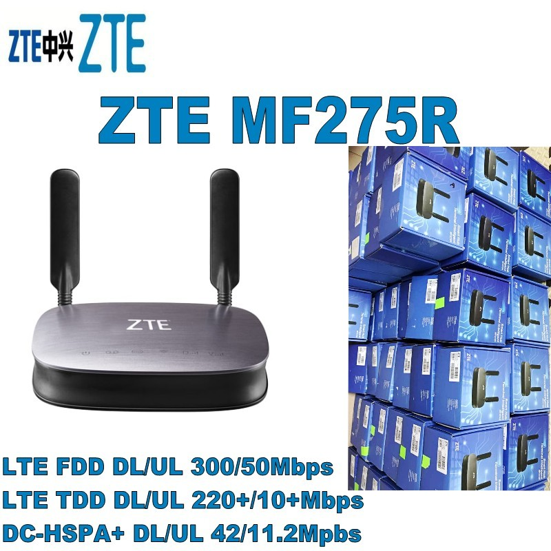 Lot 50 adet ZTE MF275R 4G LTE RouterLot 50 adet ZTE MF275R 4G LTE Router