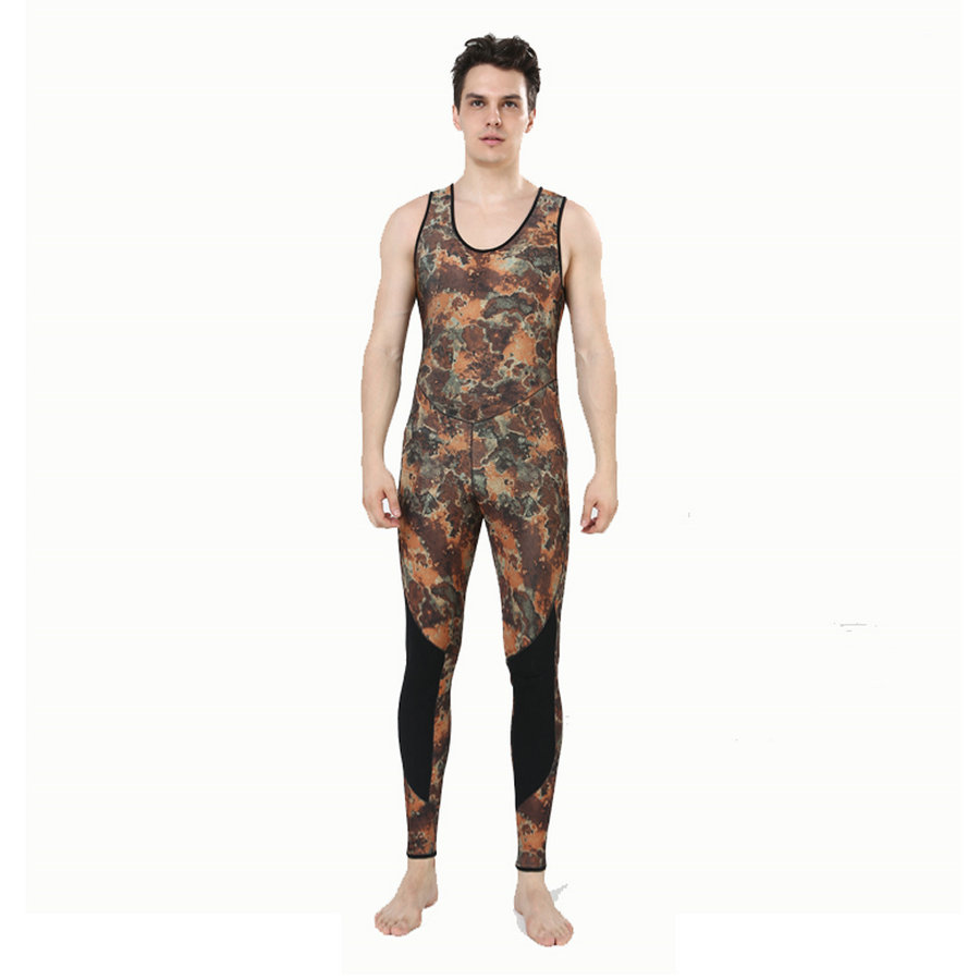 REALON Wetsuit 5mm Neoprene Camo Spearfishing Scuba Diving Suit for - Sportswear and Accessories - Photo 4