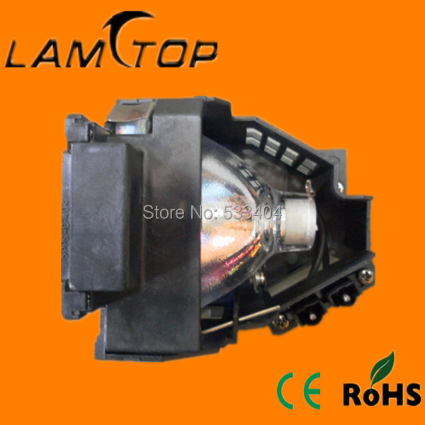Free shipping  LAMTOP compatible  projector lamp with housing/cage  for  EMP -TS10 free shipping lamtop uhe 132w compatible lamp with housing for emp tw10 emp tw10h