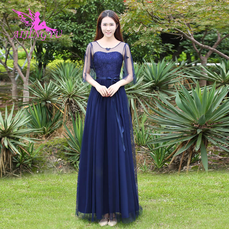 AIJINGYU 2018 sexy plus size   bridesmaid     dresses   short wedding party   dress   BN259