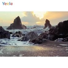 Yeele Seaside Scenery Photography Backdrops Waves Shore Landscape Customized For The Photo Studio Photographic Backgrounds