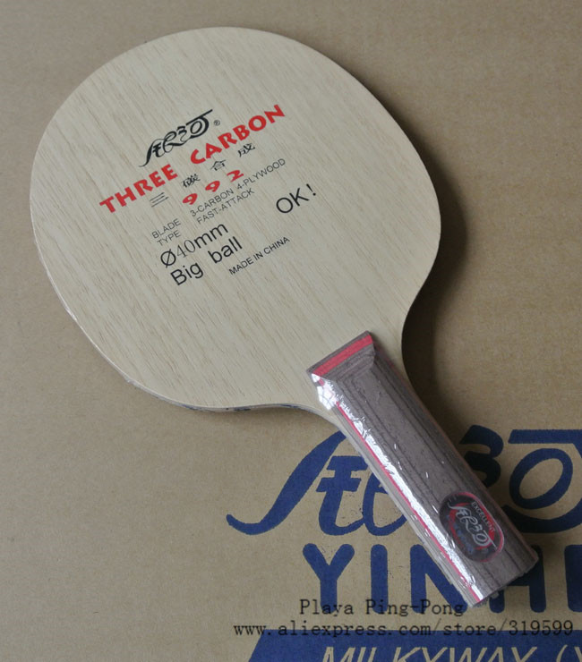 Galaxy / Milky Way / Yinhe 1986 ST handle 4 wooden 3 carbon OFF+++ Table Tennis Blade for PingPong Racket foreign custom version galaxy yinhe emery paper racket ep 150 sandpaper table tennis paddle long shakehand st