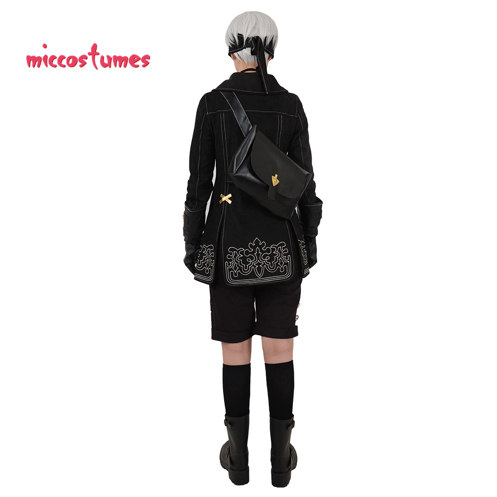 Nier Automata YoRHa No.9 Type S 9S Cosplay Costume Men Halloween Outfit