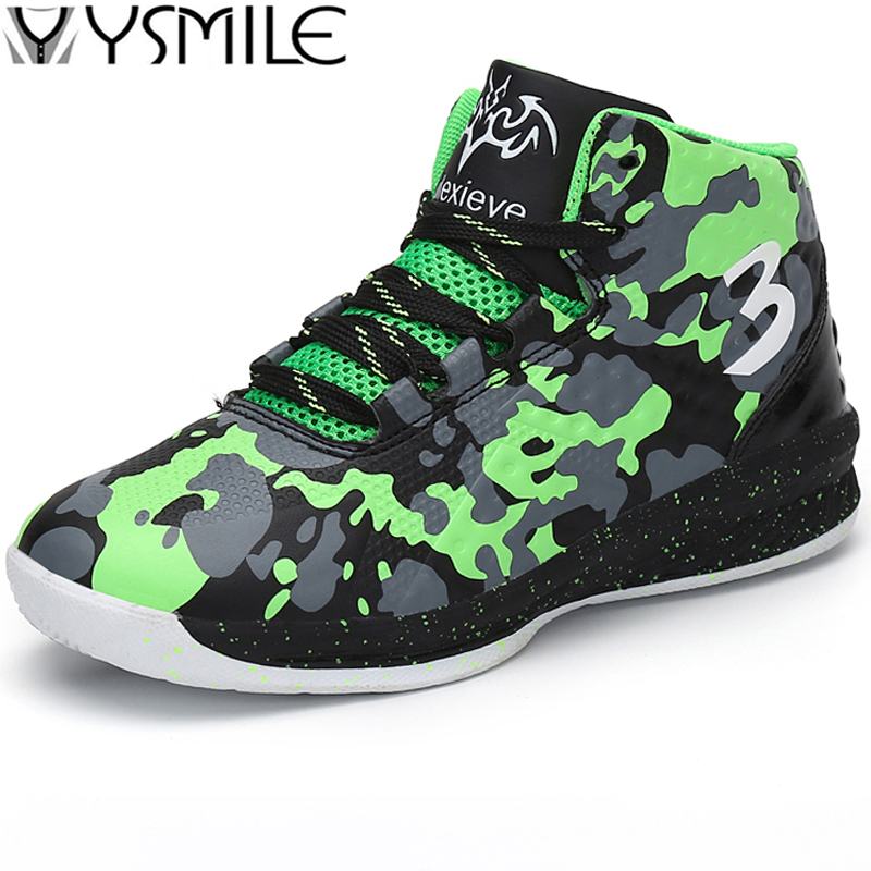 Brand High Quality Non-slip High Top Kids Sneakers Boys Basketball Shoes Outdoor Children Trainer Shoes Child Sport Shoes Boy