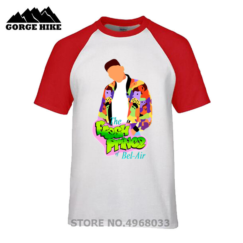 Homme hiphop Hi streetwear cartoon The Bel-Air Bunch tshirt Fantasy The Fresh Prince of Bel Air TV shows T Shirt men casual tees image
