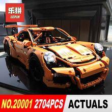 Lepin 20001 20001b teknİk serisi 3368 yarış arabası tuğla LegoINGl 42056 model oluşturma setleri blokları oyuncaklar boys Noel hediye