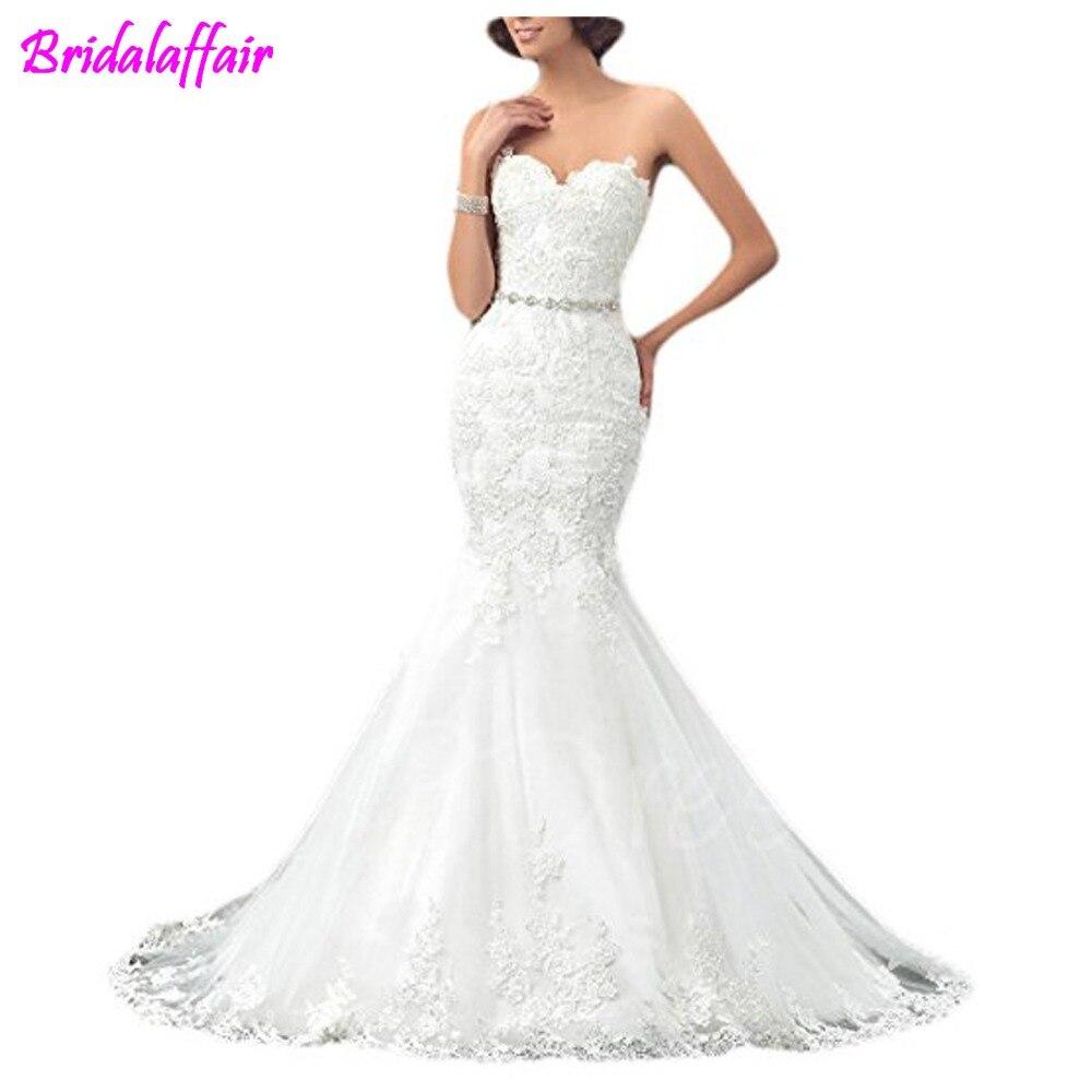 Vestido De Noivas 2018 Mermaid Wedding Dresse Svestifos De