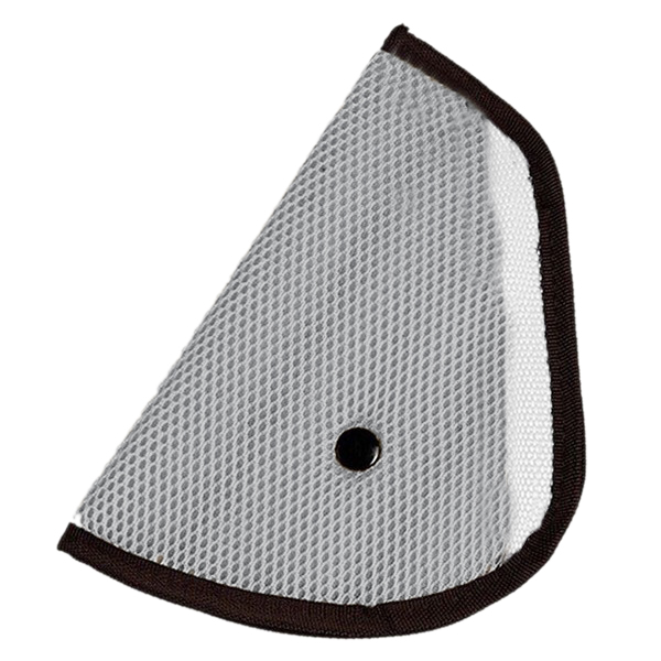 Car Accessories Comfortable Child Car Seat Belt Holder e gray