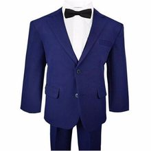 wedding suit boy formal occasions suits little boys flower girl dress suits boys casual blazer(jacket+pants+vest+tie)(China)