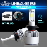 CO LIGHT Super Led H7 1 Set Cree Chip Single 72W 8000Lm 6500K Automotive Led Bulb