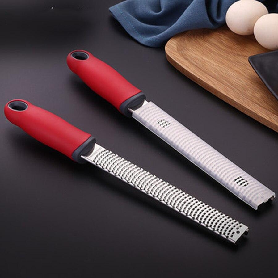 Stainless Steel Cheese Planer Shredders Multi Functional Lemon Shaver Scraper Kitchen Zester Shaver Grate Baking Tools 50N6033
