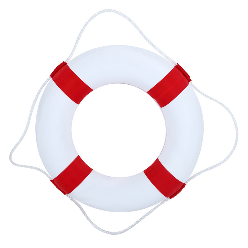Solid Foam Children's Lifebuoy Double Layer Thickened Rescue Float Beach Party Sea Yacht Swimming Ring Float