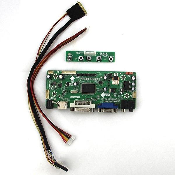 Forhsd100ifw1-a00 1024*600 Lvds Monitor Wiederverwendung Laptop QualitäTswaren WunderschöNen M Nt68676 Lcd/led Controller Driver Board hdmi + Vga + Dvi + Audio