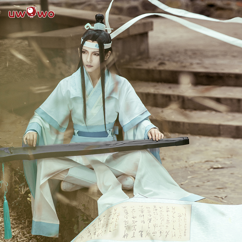 Image 3 - UWOWO Teenager Ver Lan Wangji Cosplay Anime Grandmaster of Demonic Cultivation Cosplay Costume Lan Wangji Costume Mo Dao Zu Shi-in Anime Costumes from Novelty & Special Use