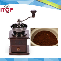 ITOP IT8521 Hand Grinder Manual Coffee Beans Spice Grinder Gift Stainless Steel Coffee Powder Maker