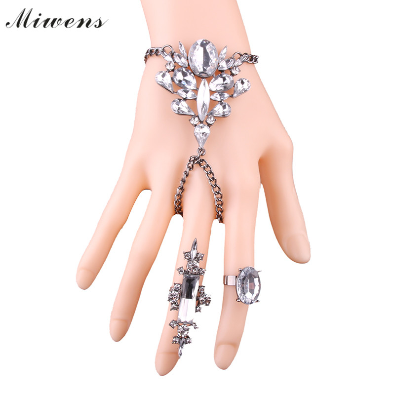 3b56f0384688e Miwens Brand 2017 Women Bracelet   Rings Jewelry Bohemian Beach Charm  Jewelry For Wedding Anniversary Party Gift-in Jewelry Sets from Jewelry    Accessories ...