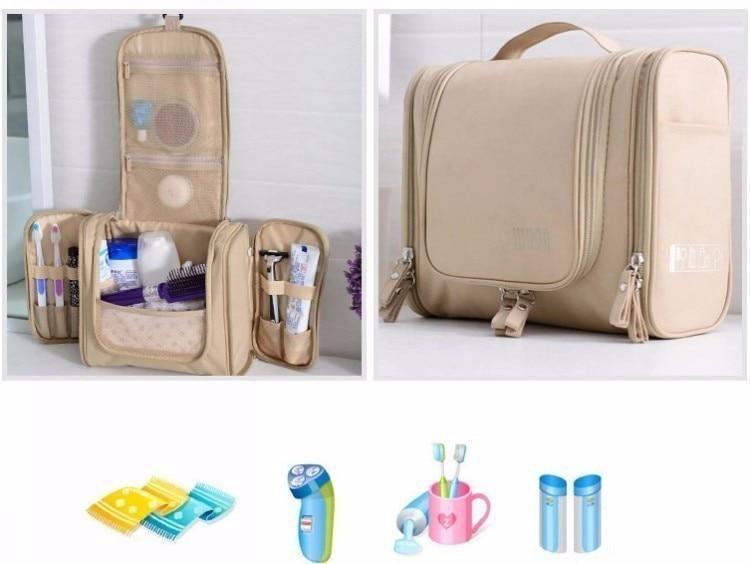 prova dwaterproof água lavagem maquiagem organizador saco