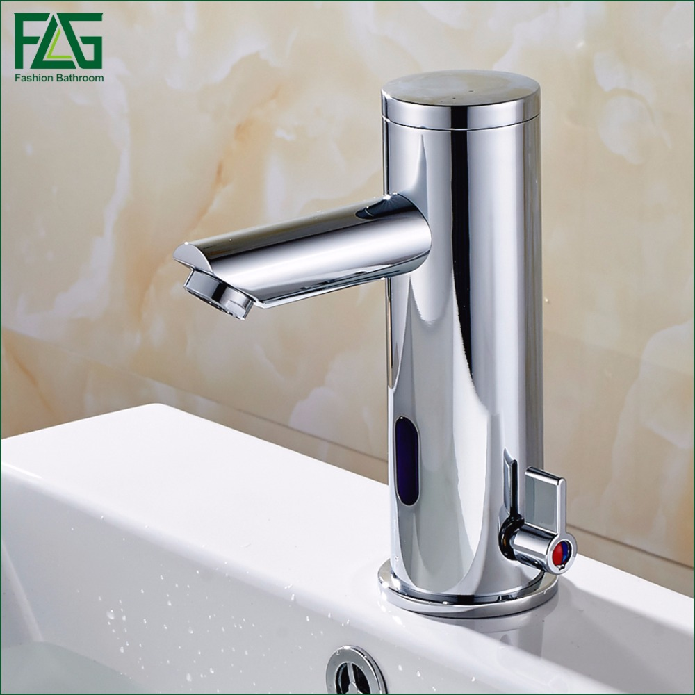 FLG Hot Cold Faucet Automatic Hands Touch Infrared Sensor