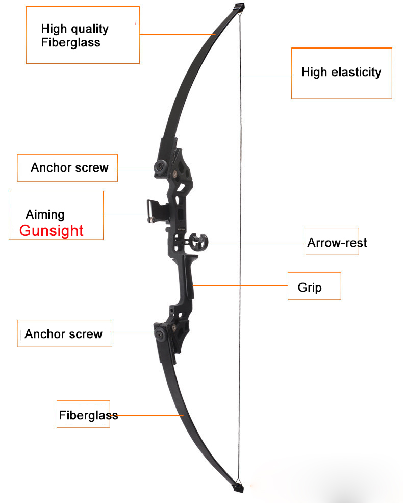 Image 5 - Professional Hunting Bow 40lbs Powerful Recurve Bow Archery Suit for Outdoor Hunting Shooting Practice Arrows Accessories-in Blind & Tree Stand from Sports & Entertainment