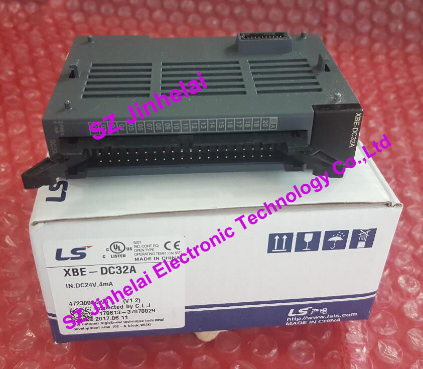 100% New and original  XBE-DC32A  LS(LG)  PLC 100% new and original xbe ry08a ls lg plc 8 point relay output