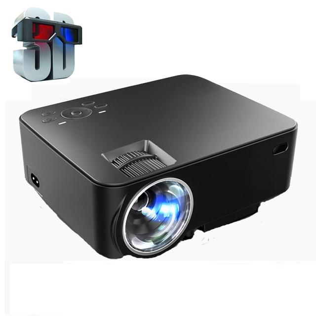 The cheapest New Portable Digital Mini 1500lumens LED LCD Projector HD 1080P Home Theater Beamer support USB SD VGA ATV HDMI