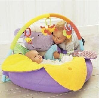 Фиолетовый овец надувные Детские Диван сиденья Blossom Ферма Сядьте Me Up Уютный младенческой мягкий диван игровые коврики EC-004