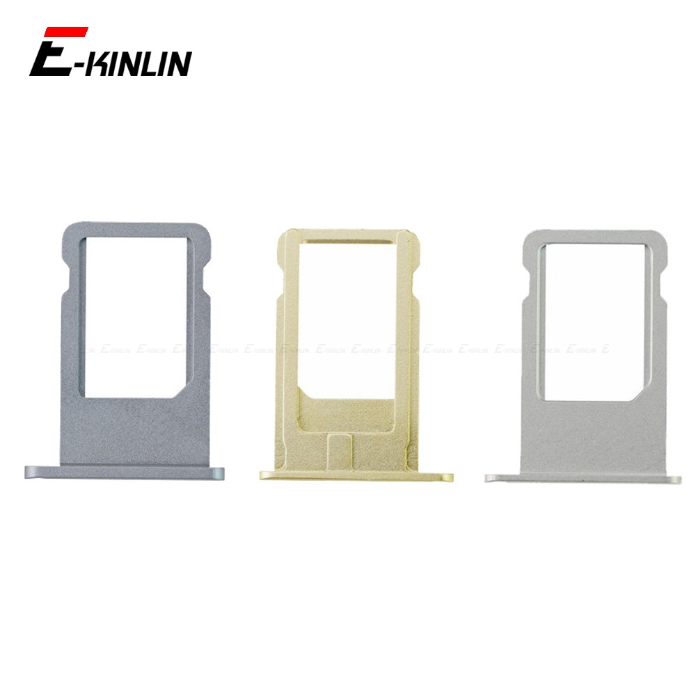 New Sim Tray Card Holder Slot For IPhone 6 6S Plus Replacement Parts