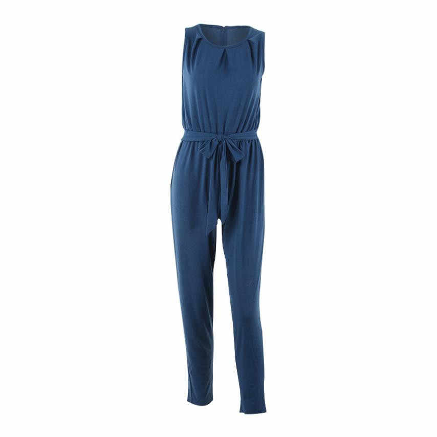 KANCOOLD Jumpsuit body for women Bandage overoles para mujer traje de fiesta de noche para mujer pelele largo artículo PJULY3