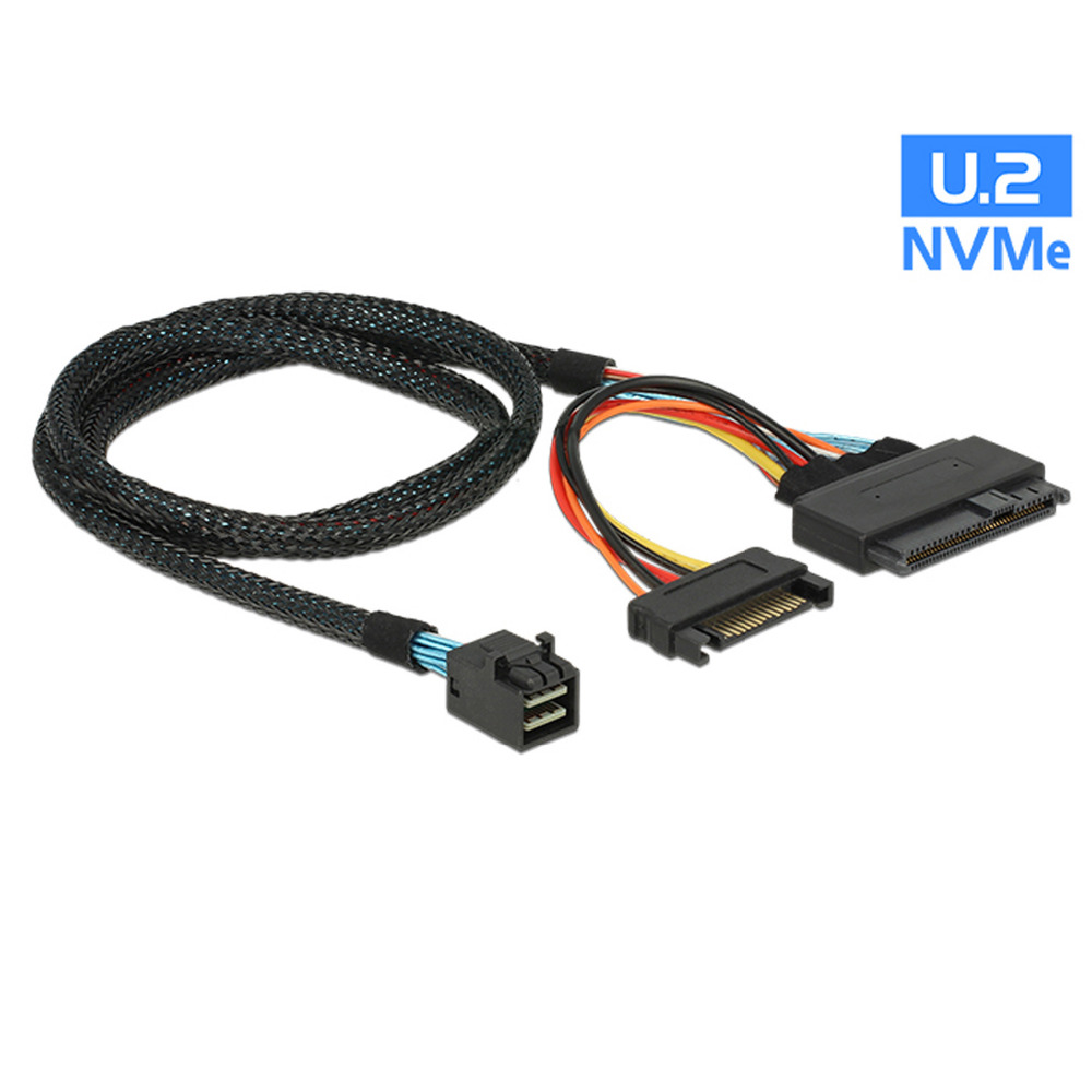 U2 SFF-8639 NVME PCIe SSD U.2 Cable for Mainboard Intel SSD 750 p3600 p3700