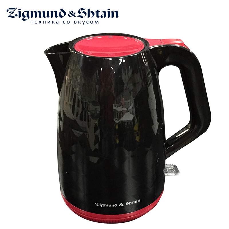 Zigmund & Shtain KE-620 Electric Kettle 2200W 1.7L Removable filter Auto shut-off when boiling Water level scale