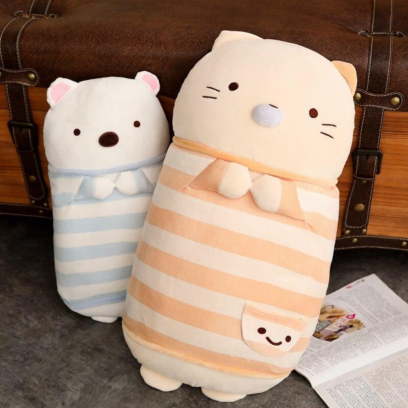 Sammeln & Seltenes 45 Cm/60 Cm Kawaii Japanische Animation Sumikko Plüsch Kissen Plüschtiere San-x Ecke Bio Kissen Puppe Spielzeug Für Kinder Mädchen Stofftiere & Plüsch