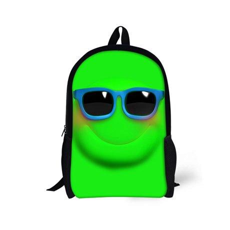 Emoji Backpack High School Teenager Boys and Girls,Women Smiley School Shoulder Book Bag for Students Shoulder Bags Female Male