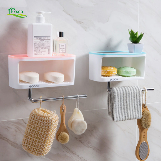 Non perforated toilet racks Wall mounted soap rack Wall mounted ...