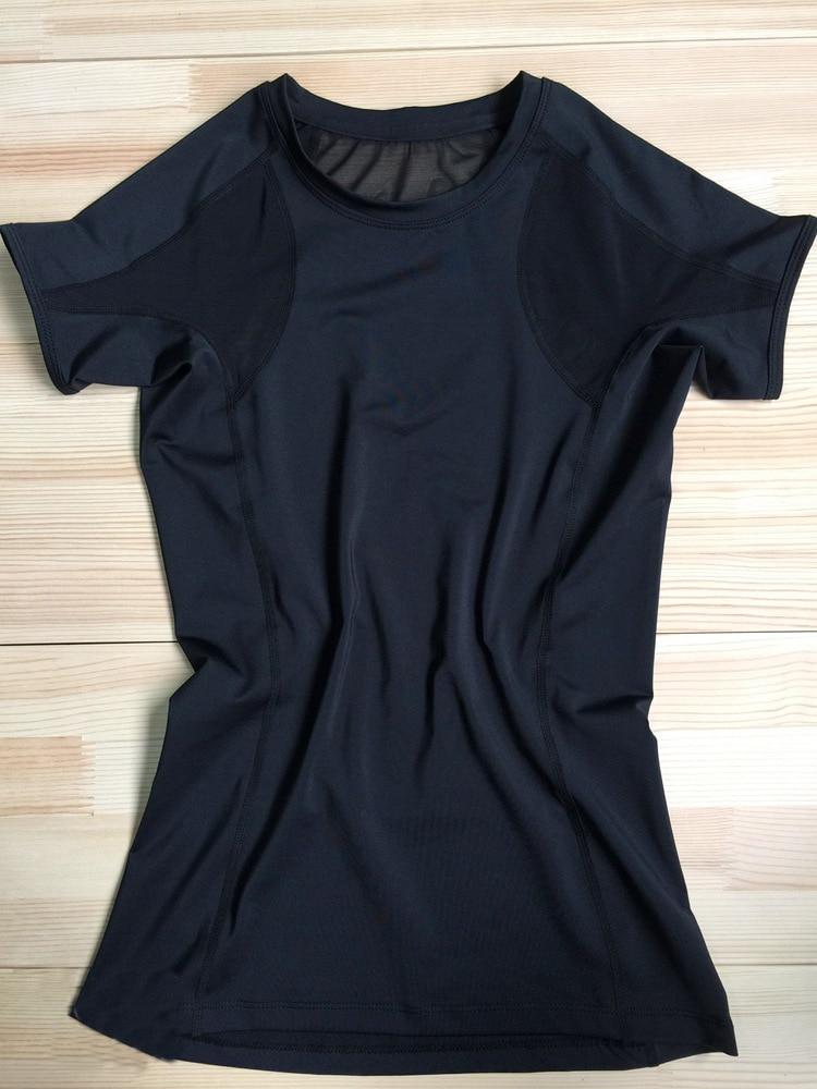 Black Quick Dry T-Shirt 3