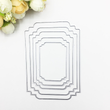 Julyarts 2019 New Arrived Irregular Figure Metal Cutting Die For Scrapbooking Wedding Invition Card Making Decor