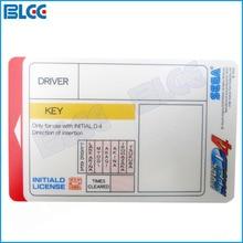 100 шт./компл. начальной D4 карты памяти для Initiald D гоночный автомобиль аркадная игра автомобиля игровой автомат аксессуар