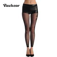 Feiterawn 2017 Black Sexy Fishnet Lingerie Floral Opaque Footless Women Tights Pantyhose Stockings Vestidos De Novia