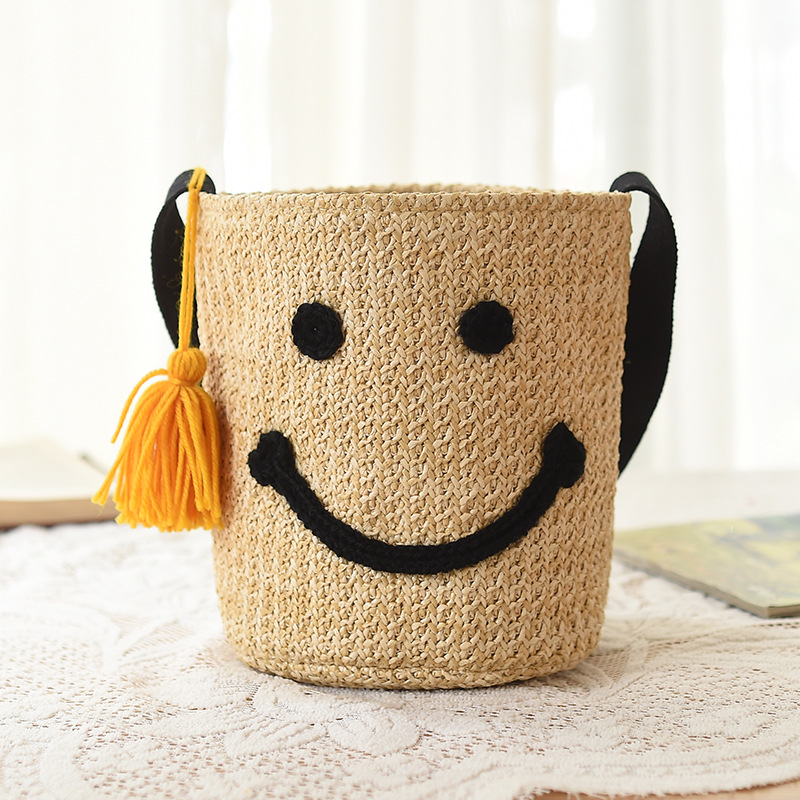 2017 Womens Bag Woven Bags For Beach Summer Womens Designer Shoulder Bag Ladies Knitting Women straw bag Shopping Handbags
