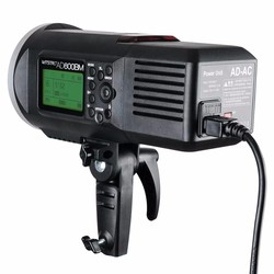 Godox AD600 AD-AC 100-240V Power Source Adapter with Cable for AD600B AD600BM AD600M AD600